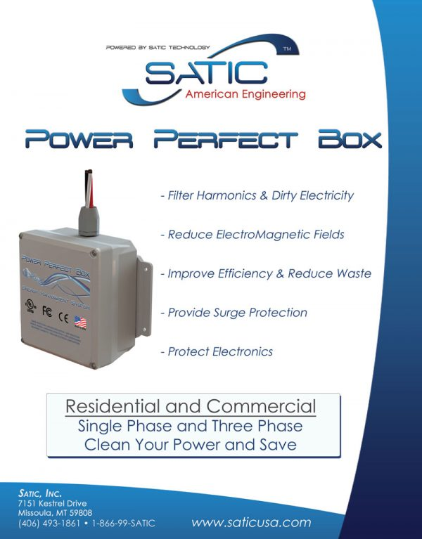 Satic Power Perfect Box for residentail and commercial use